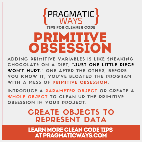 Primitive Obsession as a code smell